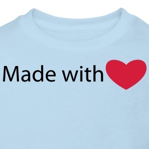 Made with love - T-shirt Bio Enfant