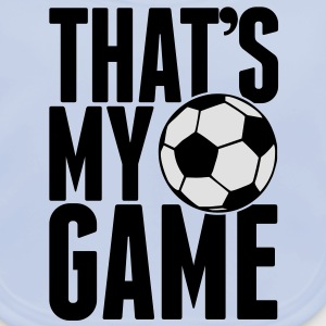 that's my game - soccer Kids' Shirts - Baby Organic Bib