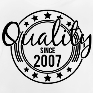Birthday - Quality since 2007 (sv) Barn-T-shirts - Baby-T-shirt