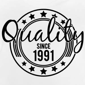 Birthday - Quality since 1991 (sv) Barn-T-shirts - Baby-T-shirt
