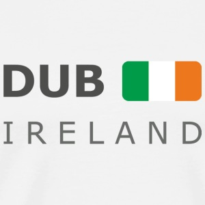 Base-Cap DUB IRELAND dark-lettered - Camiseta premium hombre