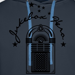 jukebox hero (a, 1c) T-Shirts - Men's Premium Hoodie