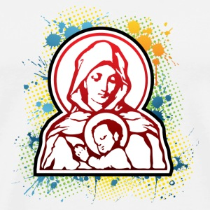 Mary and Jesus Mugs  - Men's Premium T-Shirt