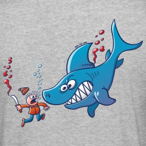 Sharks are Furious, Stop Finning! Hoodies & Sweatshirts - Men's Slim Fit T-Shirt