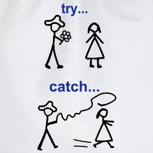 Java Try Catch Code Langarmshirts - Turnbeutel