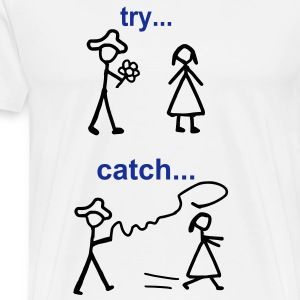 Java Try Catch Code Langarmshirts - Männer Premium T-Shirt