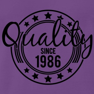 Birthday - Quality since 1986 (sv) Tröjor - Premium-T-shirt herr