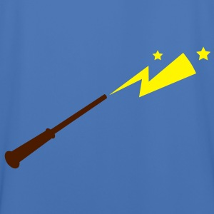 simple magic wand with sparks and stars magical!  Jackets & Vests - Men's Football Jersey