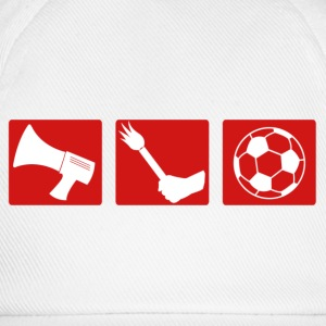Football fan pyrotechnics - Baseball Cap