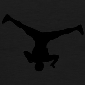 Breakdancer (spin) (Vector) - Men's Premium T-Shirt