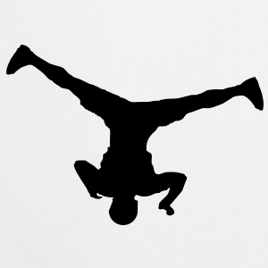 Breakdancer (spin) (Vector) - Cooking Apron