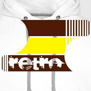 retro Design UK - Men's Premium Hoodie