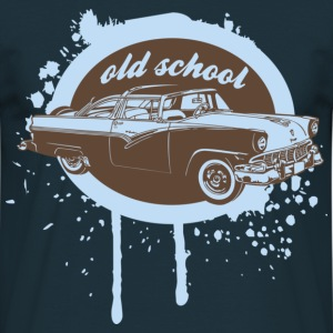 Old School Car Pullover - Männer T-Shirt