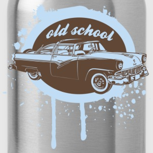 Old School Car Pullover - Trinkflasche
