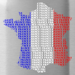 Carte France mots France Sweat-shirts - Gourde