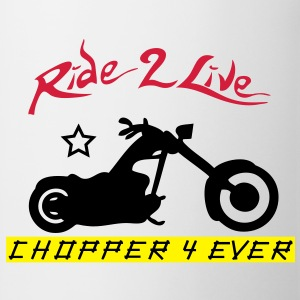 ride2live Sweat-shirts - Tasse