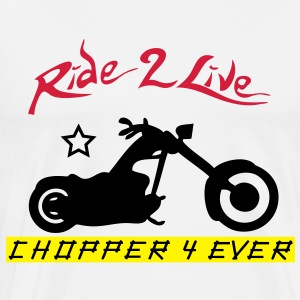 ride2live Sweat-shirts - T-shirt Premium Homme