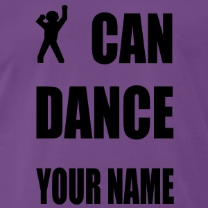 i can dance your name Pullover - Männer Premium T-Shirt