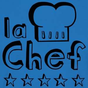La Chef  Aprons - Men's T-Shirt