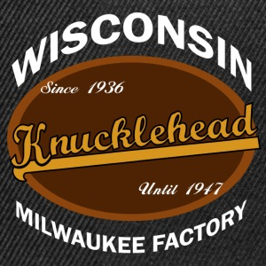 Milwaukee Knucklehead T-Shirts - Snapback Cap