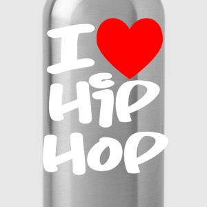 I Love Hip Hop Hoodies & Sweatshirts - Water Bottle