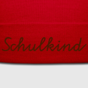 Schulkind Kinder T-Shirts - Wintermütze