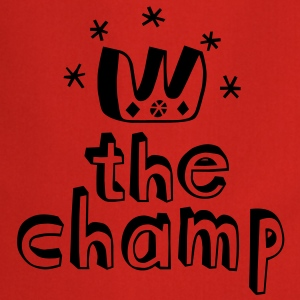 The Champ Camisetas - Delantal de cocina
