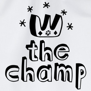 The Champ Buttons - Drawstring Bag