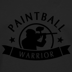 Paintball Warrior Tee shirts - T-shirt manches longues Premium Homme