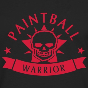 Paintball Warrior T-skjorter - Premium langermet T-skjorte for menn