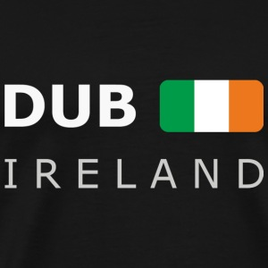 Men's Pullover DUB IRELAND dark-lettered - Camiseta premium hombre