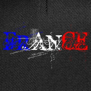 France tricolore turbo Tee shirts - Casquette snapback