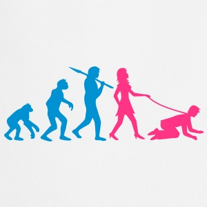 woman_evolution T-Shirts - Kochschürze