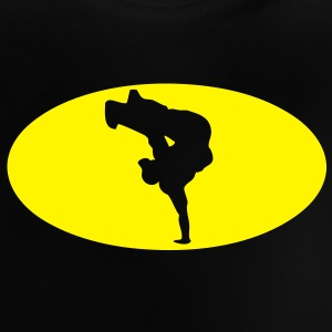 breakdance logo bat 16023 Tee shirts Enfants - T-shirt Bébé