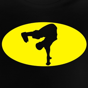 breakdance logo bat 16022 Tee shirts Enfants - T-shirt Bébé