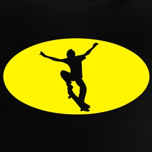 skateboard logo bat1 Tee shirts Enfants - T-shirt Bébé