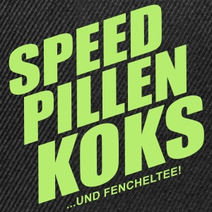Speed pillen koks ... - Snapback Cap