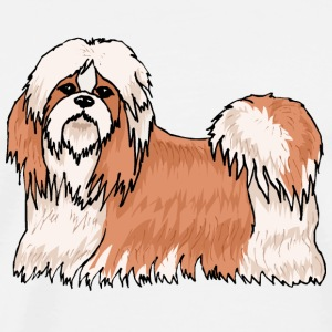 Doggy Teddy Lhasa Apso - Men's Premium T-Shirt