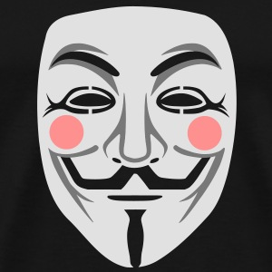 Anonymous / masque de Guy Fawkes 3clr Sweat-shirts - T-shirt Premium Homme