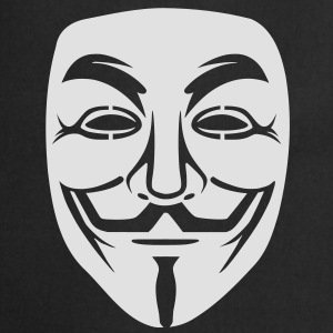 Anonymous / masque de Guy Fawkes 1clr Sweat-shirts - Tablier de cuisine