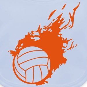 ballon volleyball flamme fireball1 Tee shirts Enfants - Bavoir bio Bébé