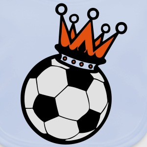 couronne crown king football roi Tee shirts Enfants - Bavoir bio Bébé