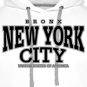 New York City Bronx black - Männer Premium Hoodie