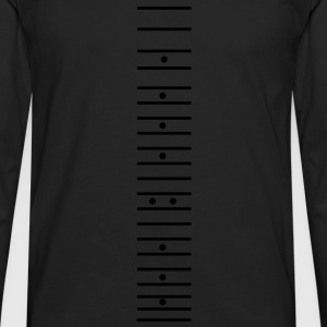 fret - guitar neck vector T-Shirts - Men's Premium Longsleeve Shirt