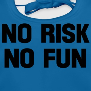 no risk no fun Tee shirts Enfants - Bavoir bio Bébé