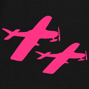 Jet airplanes  Backpack - Men's Premium T-Shirt