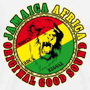 jamaica africa original good sound Gensere - Premium T-skjorte for menn