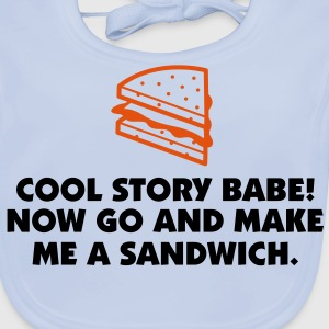 Cool Story Babe 1 (2c)++ Kinder shirts - Bio-slabbetje voor baby's
