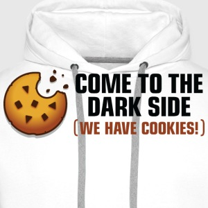 Come To The Darkside 2 (dd)++ Tee shirts - Sweat-shirt à capuche Premium pour hommes