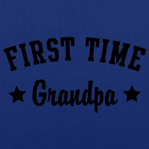 FIRST TIME Grandpa Shirt HN - Tote Bag